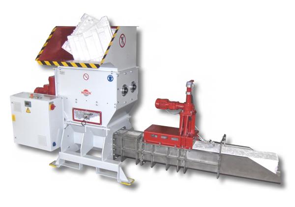 Heger foam compactor
