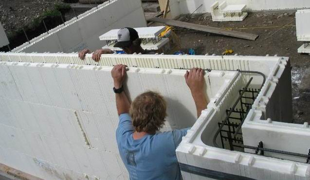 Sustainable building practices with polystyrene foam for Foam concrete construction
