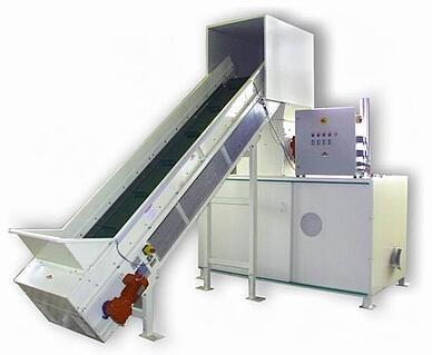 Heger foam recycling machine