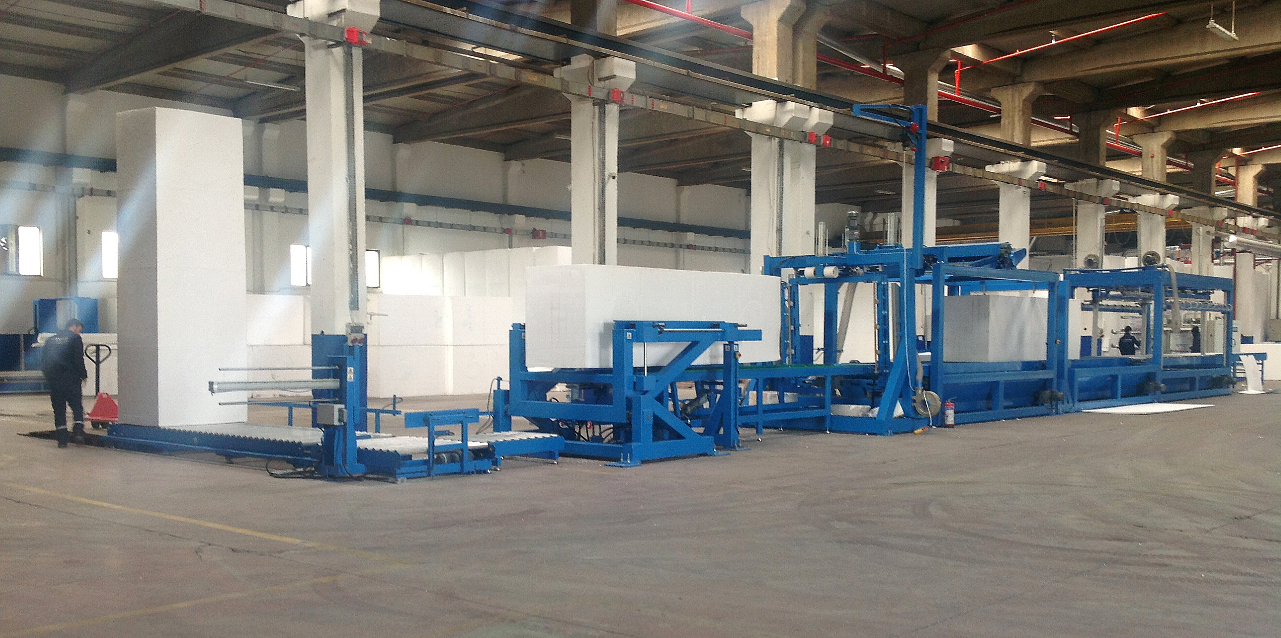EPRO Cutting Equipment for Block Molding